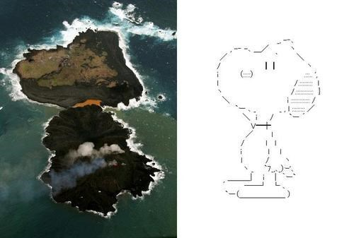 islands,snoopy,totally looks like,Japan