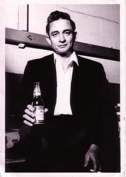 beer johnny cash funny - 7975189504