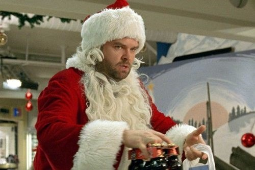 christmas beer drunk santa funny - 7975200512