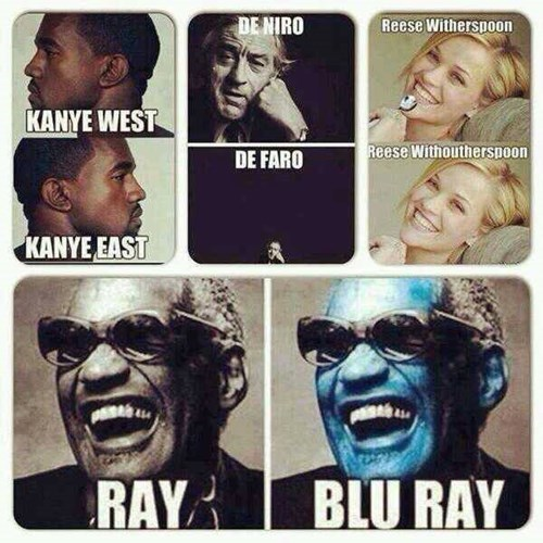 robert de niro puns resse witherspoon kanye west ray charles - 7975216896