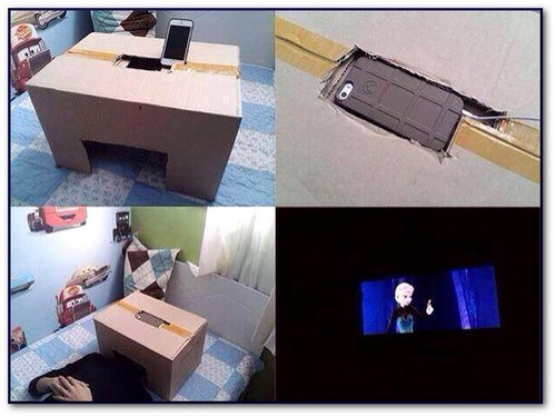 cardboard box DIY iphone - 7975222528