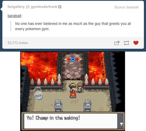 Sad Pokémon tumblr gyms - 7975240960