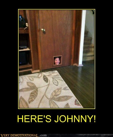 heres-johnny the shining funny short - 7975283456