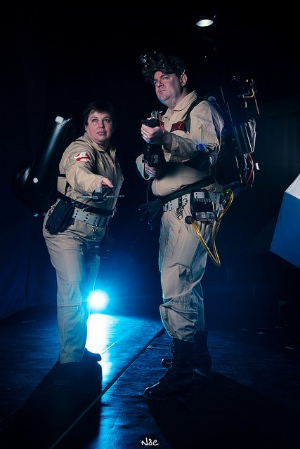 cosplay Ghostbusters - 7975290112