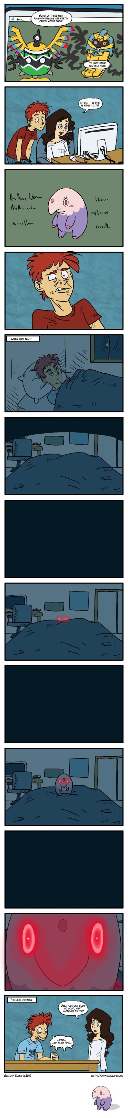 munna,pink,web comics