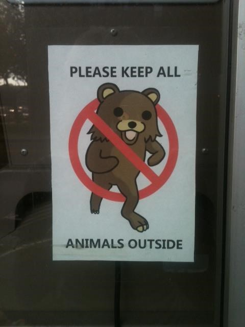 sign,whoops,pedo bear