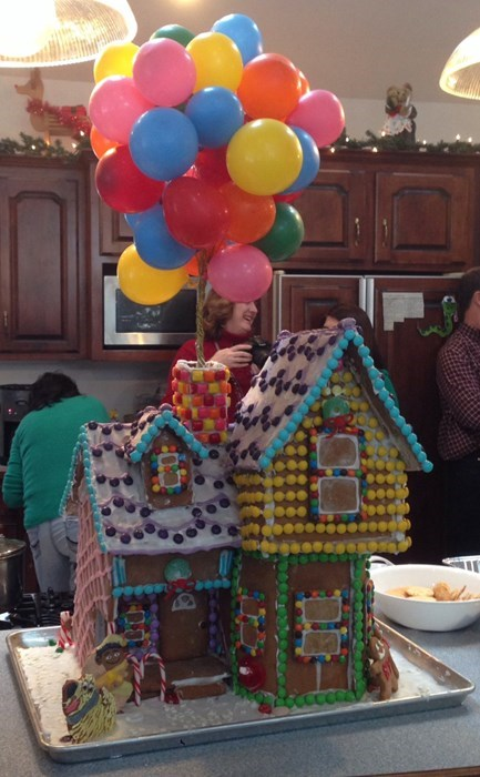 gingerbread house,design,up