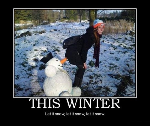 Sexy Ladies funny snow man wtf - 7975379712