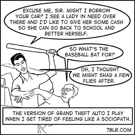 Grand Theft Auto web comics