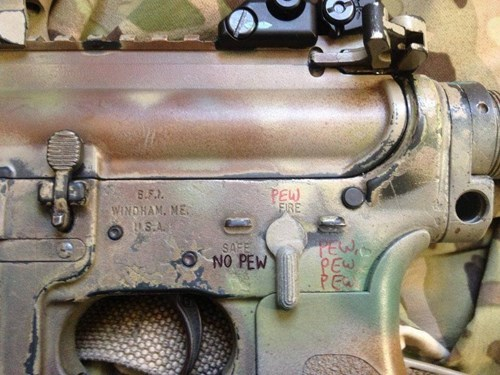 guns pew labels - 7975416832