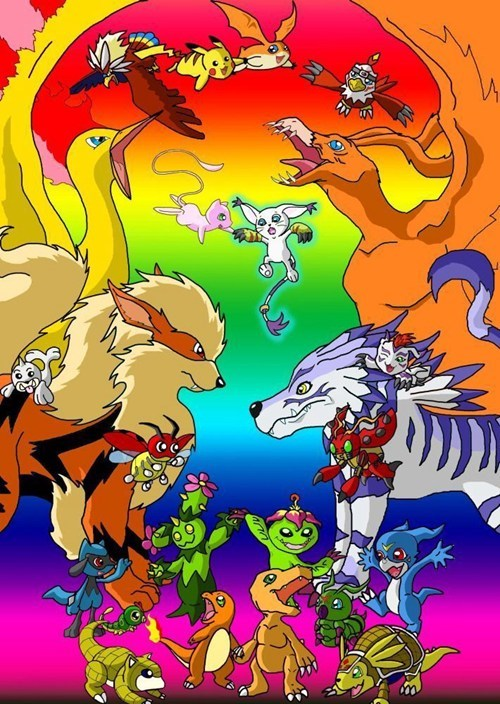 crossover digimon digifriday - 7975992320