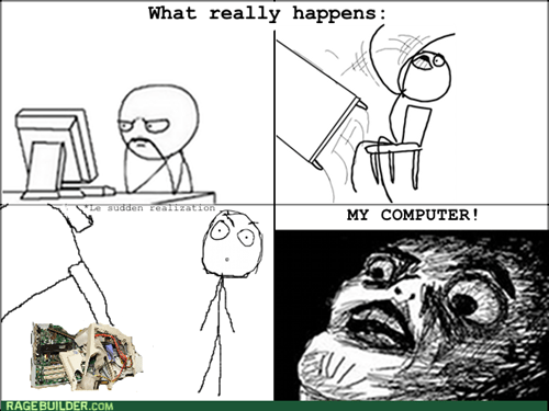 computer guy table flipping - 7976008448