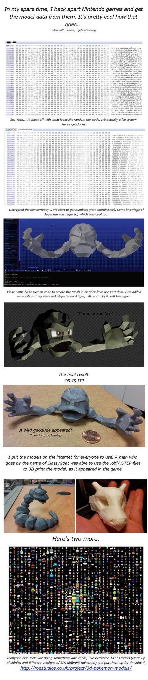 geodude models Pokémon - 7976058624