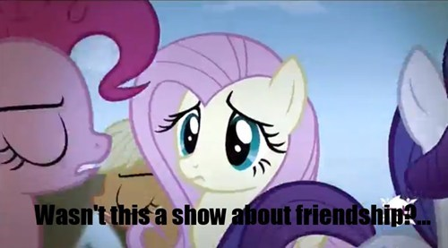 fluttershy mean girls anti friendship - 7976165120