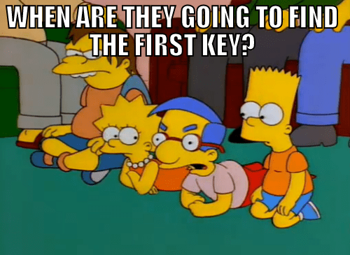 MLP,keys,simpsons,mlp season 4