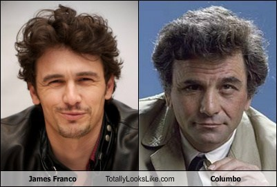columbo James Franco totally looks like