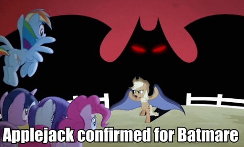 applejack batman power ponies - 7976278528