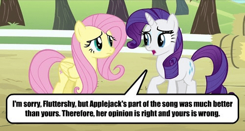 applejack fluttershy Songs rarity resolved