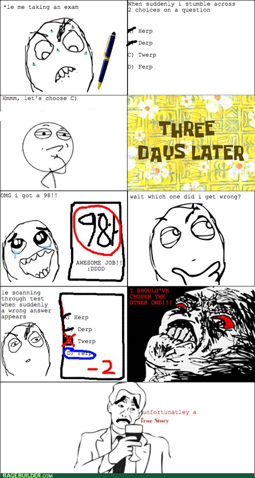 school multiple choice rage tests - 7976709632