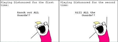 all the things,dishonored,Rage Comics