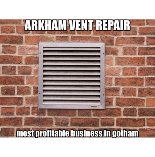 vents Arkham Asylum batman - 7976844032