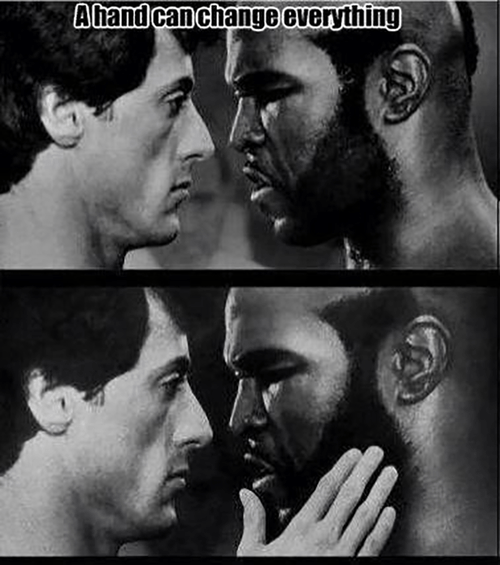 Sylvester Stallone mr t perspective rocky - 7977930240