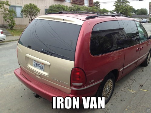 van iron man paint job - 7977937152