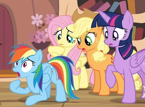 looks bad rainbow dash mlp season 4 - 7977964288