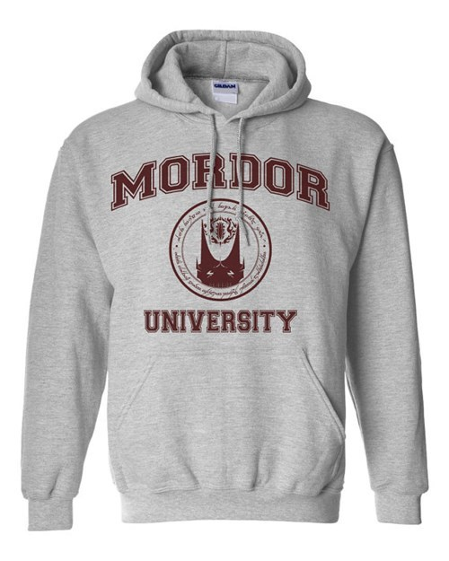 college for sale Lord of the Rings mordor hoodies sweaters - 7977993984