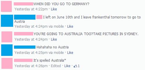 australia austria Germany spelling - 7978115072