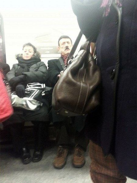 hitler,Subway