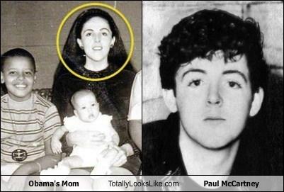 paul mccartney totally looks like moms obama - 7978189568