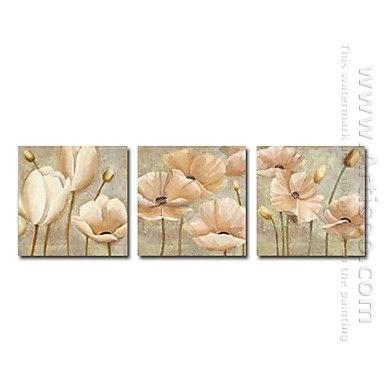 Handgeschilderde Bloemen olieverfschilderij