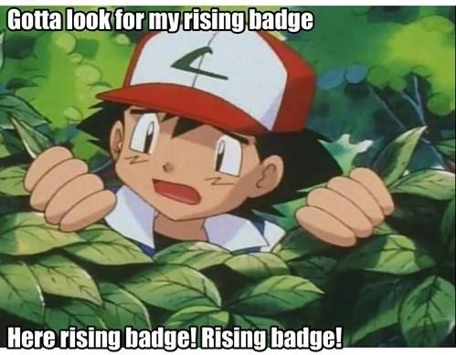 ash anime rising badge - 7978585344