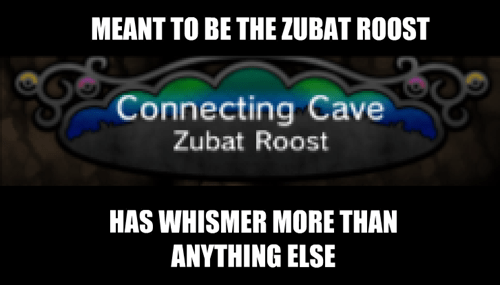 whismur,connecting cave