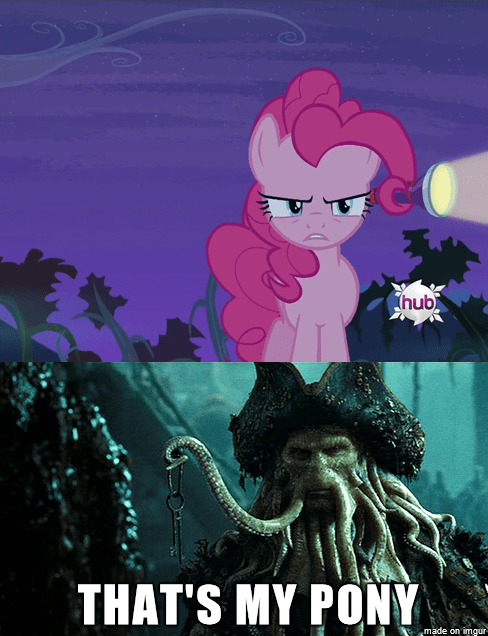 davy jones,pinkie pie,Pirates of the Caribbean