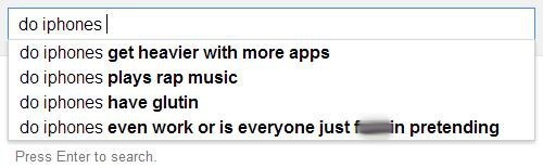 AutocoWrecks,autocomplete,google,iPhones