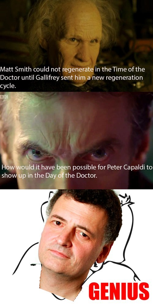 12th Doctor 50th anniversary christmas special - 7978968576