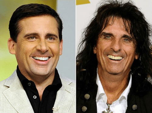 alice cooper,totally looks like,steve carell