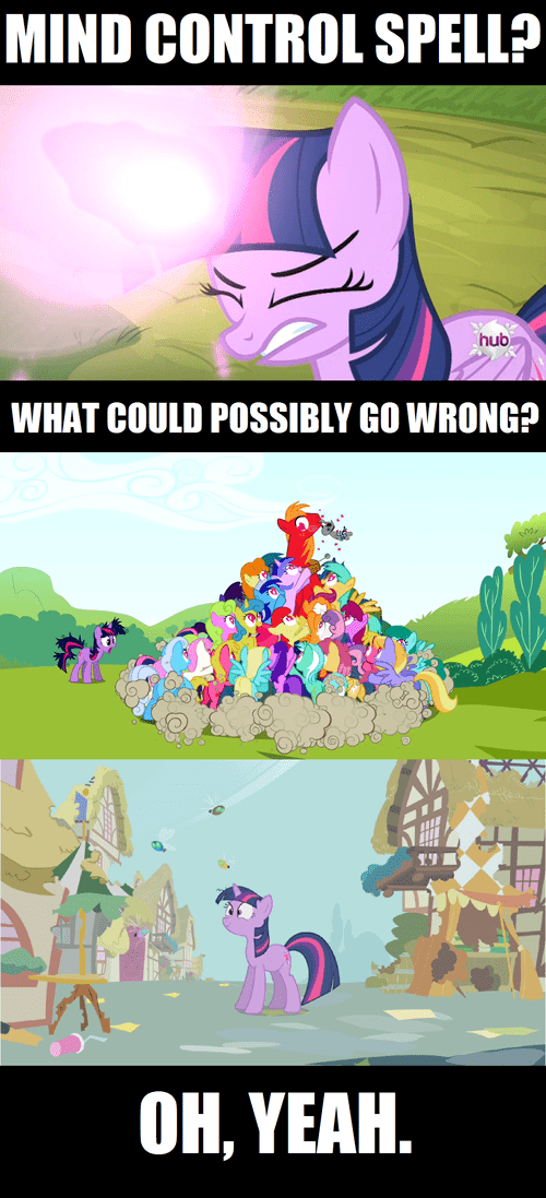 twilight sparkle spells same mistake - 7979039488
