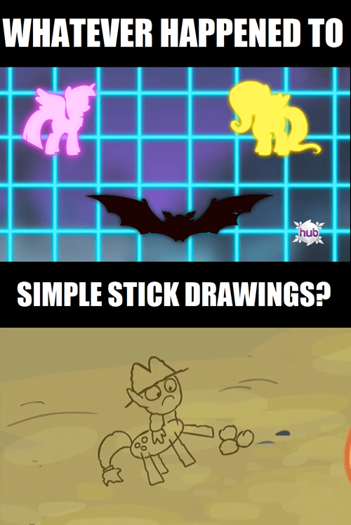 MLP graphs stick figures technology - 7979039744