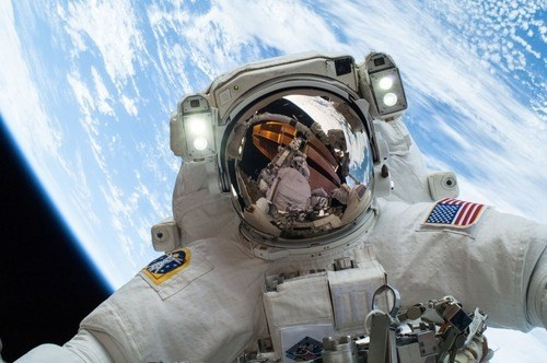 astronaut funny science space selfie g rated School of FAIL - 7979076096