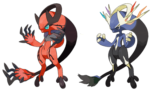 Mega Mewtwo Y Mixed With Yveltal and Xerneas