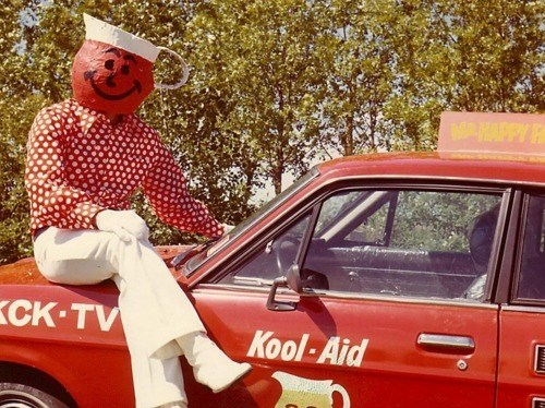 The Kool Aid Man Before His Horrible Obesity