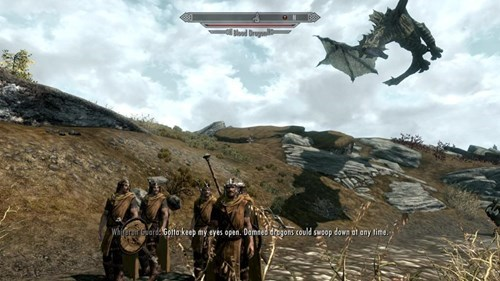 the elder scrolls,dragons,Skyrim