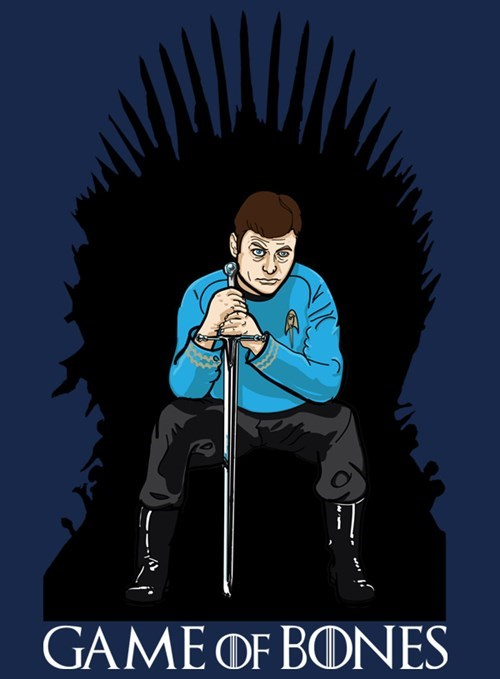 Game of Thrones mashup Star Trek bones mccoy