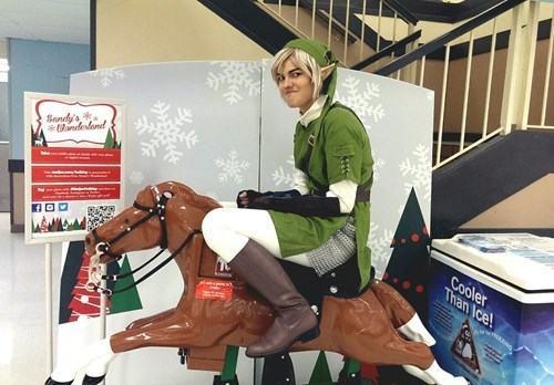 cosplay link legend of zelda - 7979281408