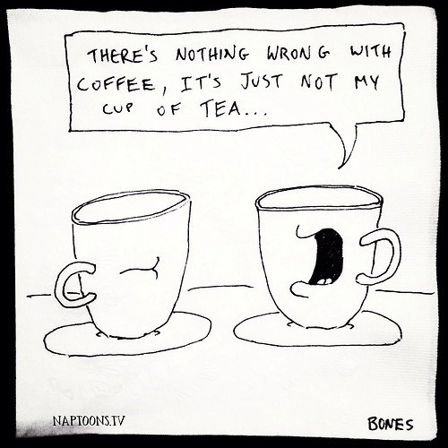coffee puns tea web comics - 7979283968