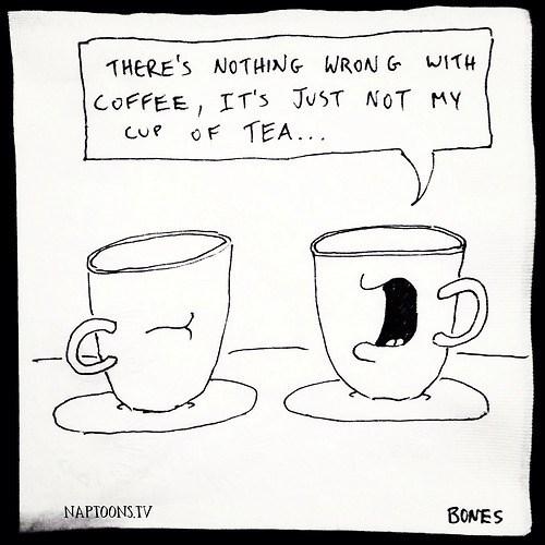 coffee puns tea web comics - 7979283968