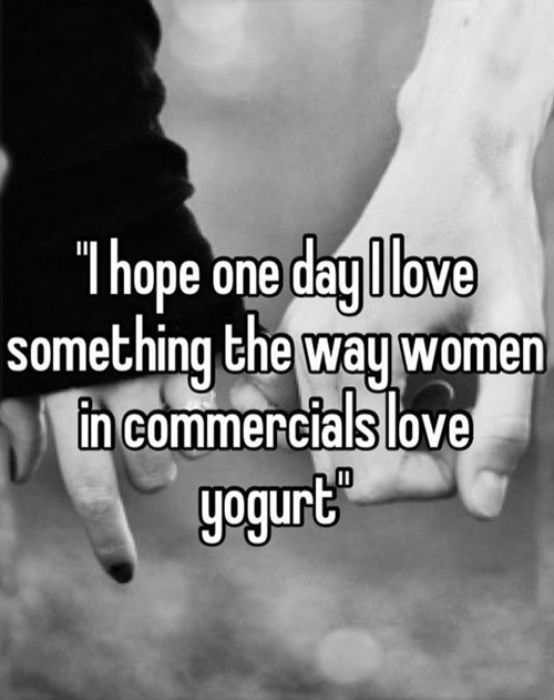 men vs women,true love,yogurt